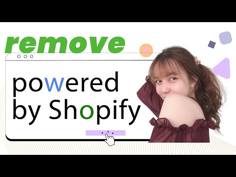 How to remove Powered by Shopify in the footer EcomSolid Blog