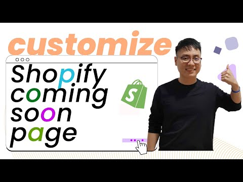 How to set up and customize a Coming Soon Page in Shopify 2021 - EcomSolid Blog