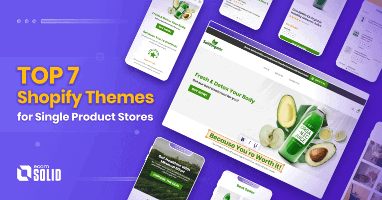 top 7 single product Shopify themes