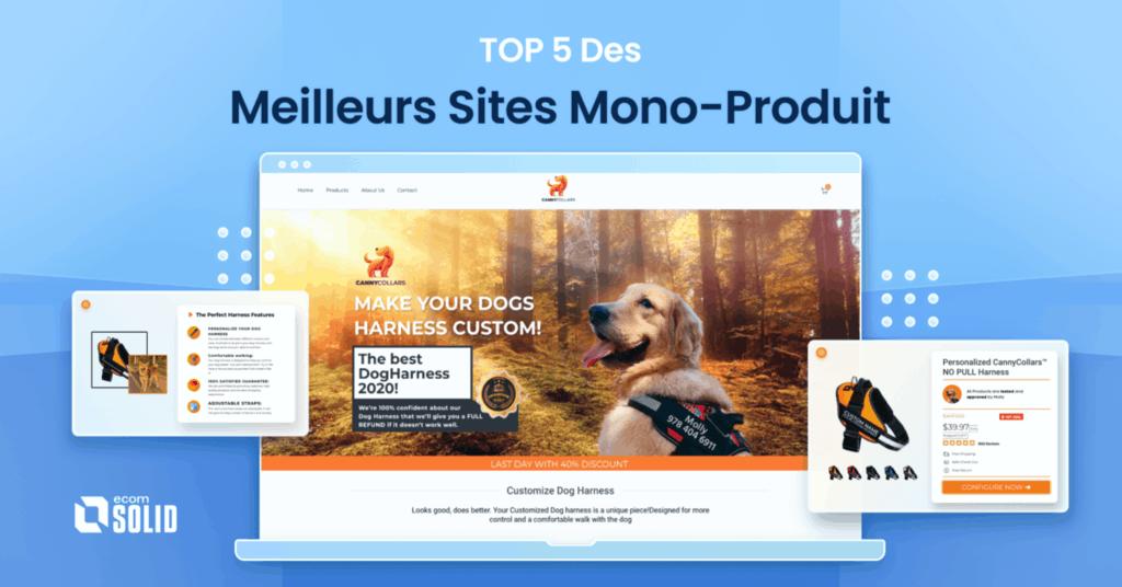 Top 5 des sites mono-produits