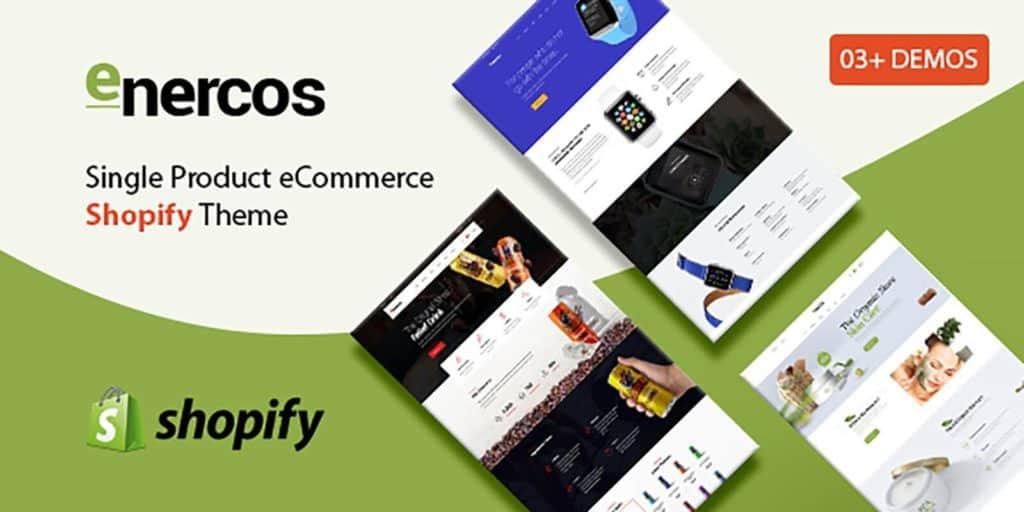 7 Meilleurs Thèmes Shopify - Enercos