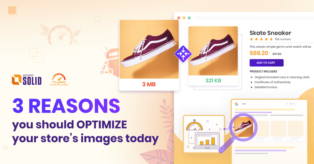 Image Optimization - 3 reasons to Optimize your images