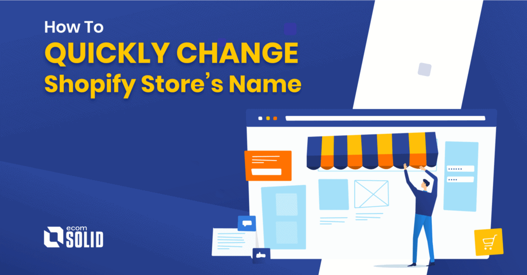 how to change shopify name store, buy new domain for your store, or keep subdomain myshopify.com