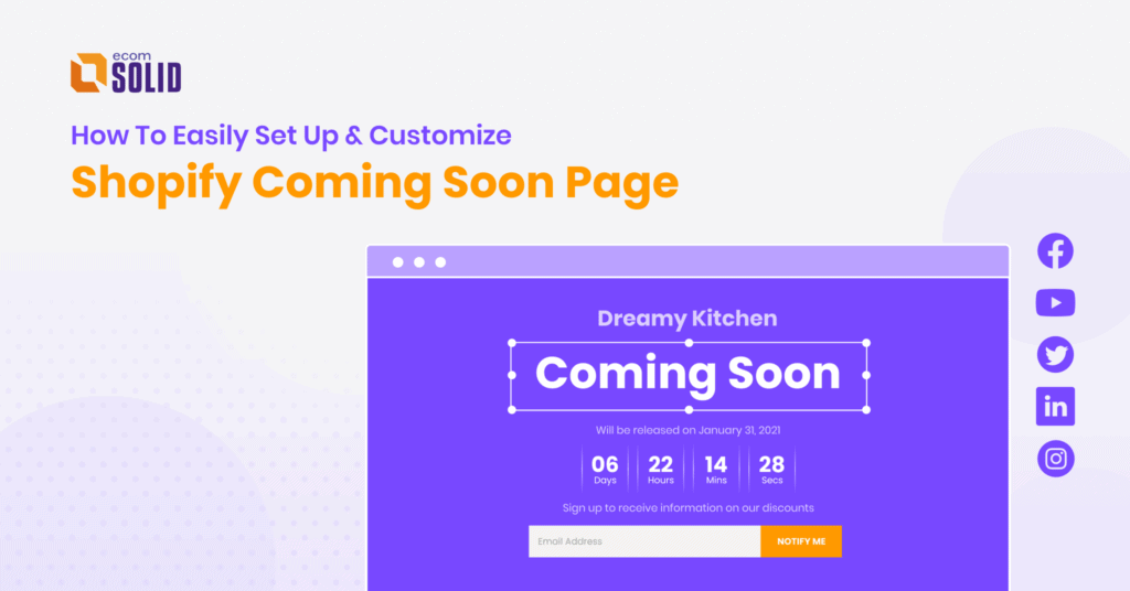 Shopifycomingsoonpage