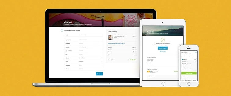 Shopify checkout page