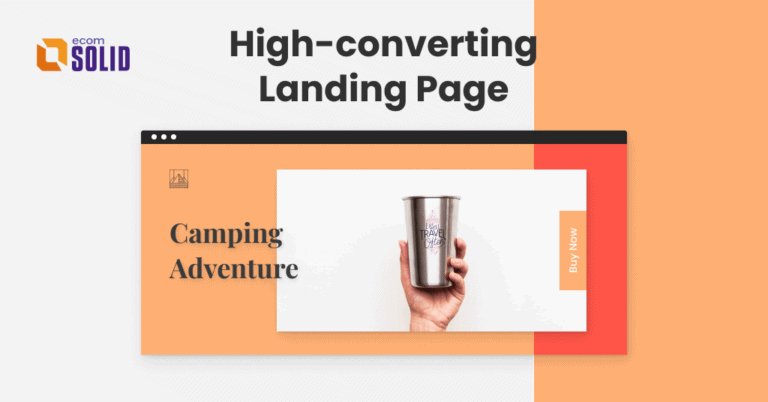 Everything about Shopify landing page