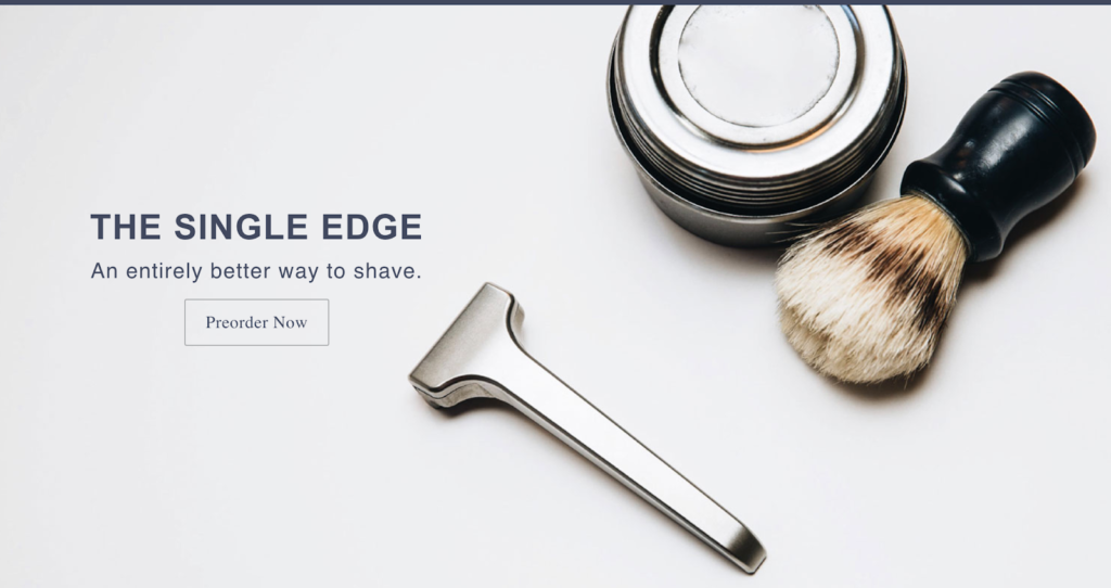 Supply shave, Shopify coming soon page examples